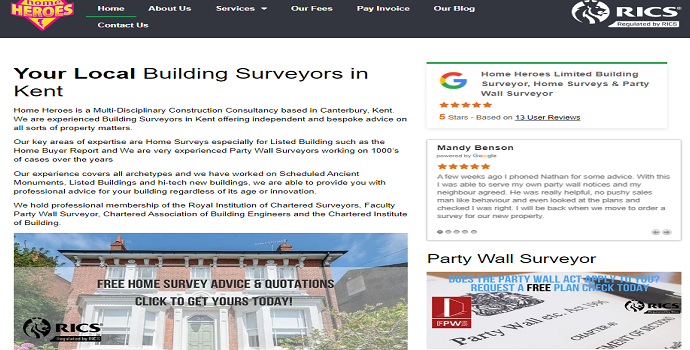 building surveyors